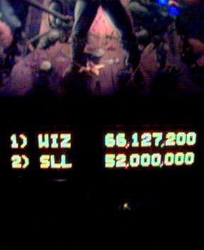 High score for WIZ on Medieval Madness